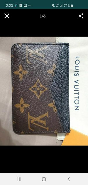 💥NWT Men's Louis Vuitton Ebene Card Holder LV for Sale in Queens, NY