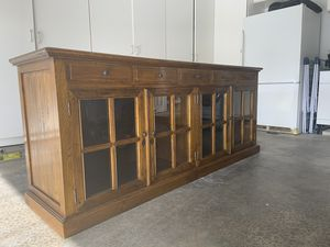 Antique wooden sideboard for Sale in Newport Beach, CA