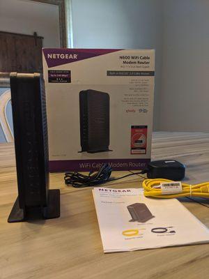 Netgear wifi cable modem router for Sale in Vero Beach, FL