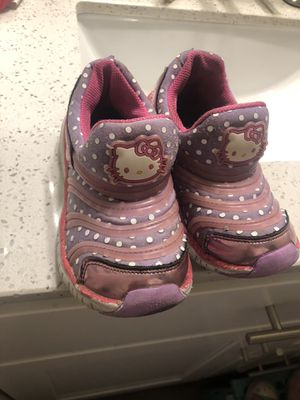 Hello kitty shoes kid size 12-13 for Sale in Sunnyvale, CA