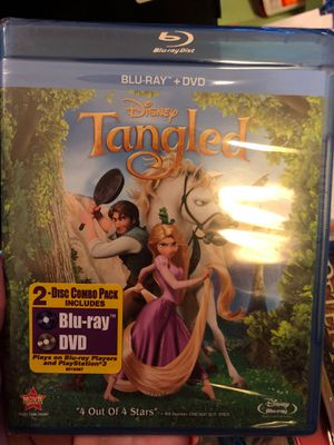 Brand New Tangled Blu-ray and DVD set for Sale in Plano, TX