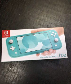 Brand new NINTENDO SWITCH LITE - Turquiose for Sale in San Francisco, CA