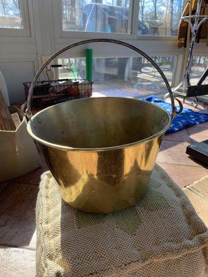 Antique Brass Bucket for Sale in Alexandria, VA
