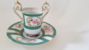 Antique Ohata China two- handle teacup made in Occupied Japan for Sale in Phoenix, AZ