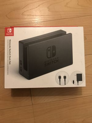 Nintendo Switch Dock set for Sale in West Los Angeles, CA