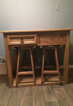 Raw solid oak wood kitchen table for Sale in Arlington, TX