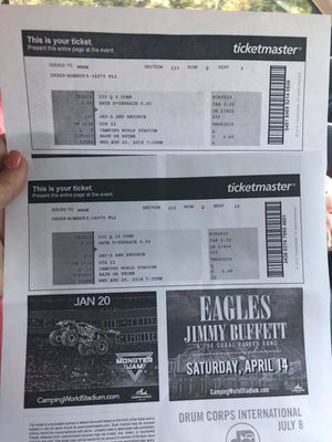 Jay Z and Beyoncé tickets for Sale in Bartow, FL
