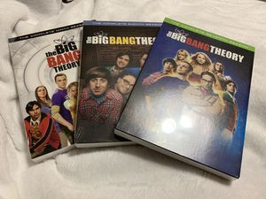 FOR SALE: New/never opened Big Bang Theory Seasons 7-8-9 $7 each for Sale in Lebanon, IN