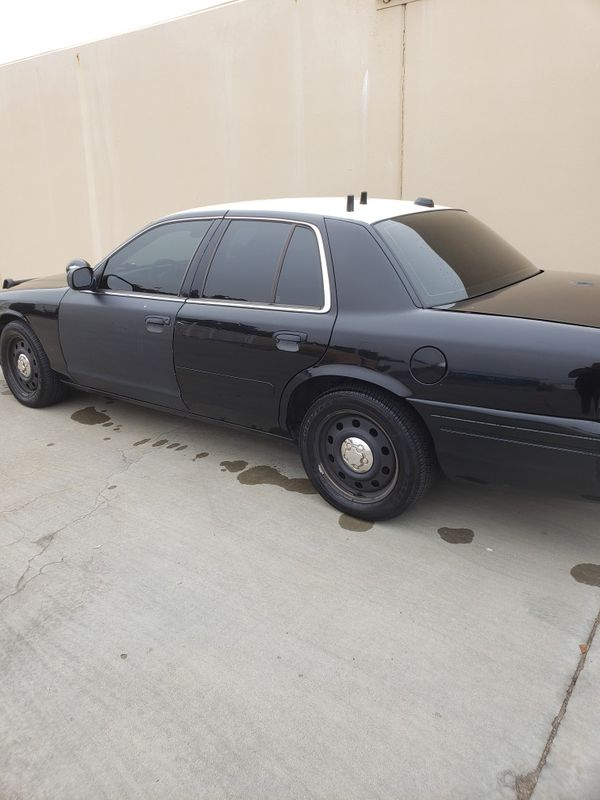 Police Interceptor Ford Crown Victoria 2008 V8