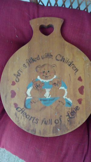 Decorative cutting board for Sale in Dixon, MO