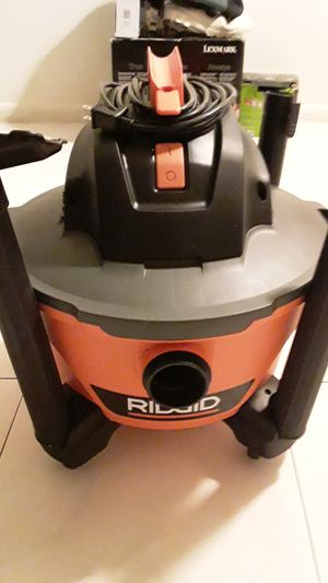 Ridgid vacuum in perfect condition for Sale in Hollywood, FL