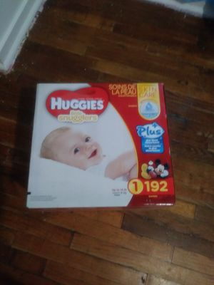 Huggies size 1 for Sale in Springfield, MA