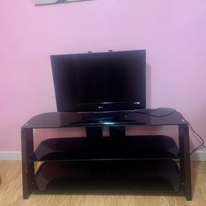 Shelf's Glass Tv Stand for Sale in Salem, OR