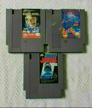 Nintendo nes games for Sale in Portland, OR