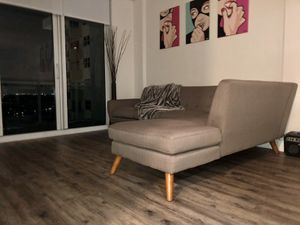 Beautiful Modern Sectional Sofa in Olive Grey for Sale in Hollywood, FL
