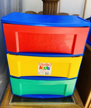 3 Drawer Storage Bin Container for Sale in Winchester, CA