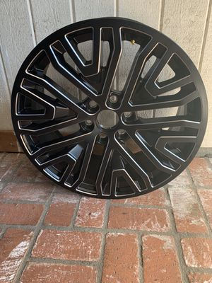 22' Brand New Rims - Never Been Used. Set of four six lug nuts. for Sale in Lakewood, CA