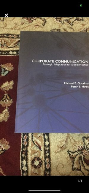 Corporate Communication Strategic Adaption for Global Practice for Sale in Queens, NY