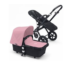 Bugaboo cameleon stroller black and pink for Sale in Los Angeles, CA