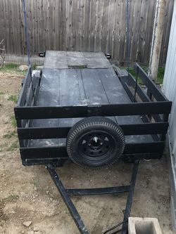 Utility Trailer 4x8 or 4x12 for Sale in Fresno,  CA
