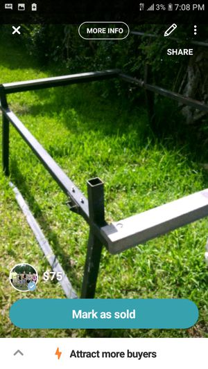 Custom ladder rack. for Sale in Clearwater, FL