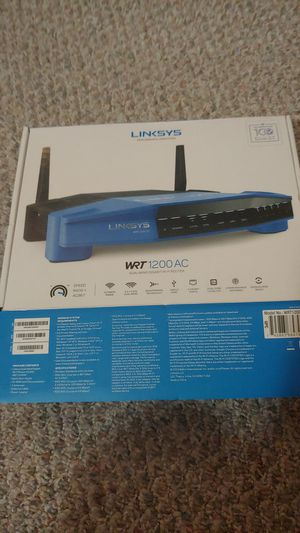 Linksys WRT 1200AC ROUTER for Sale in Spring Hill, FL