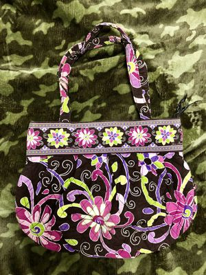EUC Retired Vera Bradley handbag in Purple Punch for Sale in Pamplin, VA