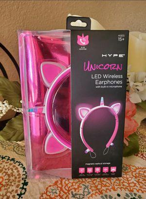 Unicorn LED Wireless Headphones for Sale in El Paso, TX