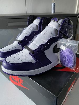 "Jordan 1 Retro High OG ""Purple Court 2.0"" Size 10 for Sale in Los Angeles, CA"