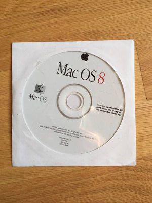 Mac OS 8 Apple OEM cd operating system Install Disk. Sealed, never opened. for Sale in Steilacoom, WA