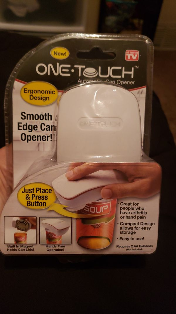 One Touch Automatic Can Opener: Ergonomic Design