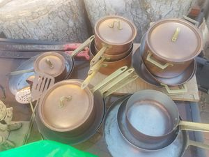 Copper pans for Sale in Westminster, CA