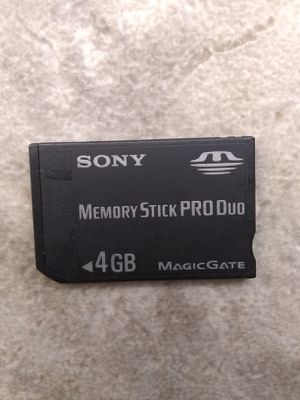 Sony 4Gb Memory Stick Pro Duo Psp for Sale in Fresno, CA