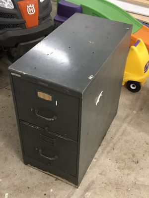Used 2 drawer file cabinet for Sale in Lake Shore, MD