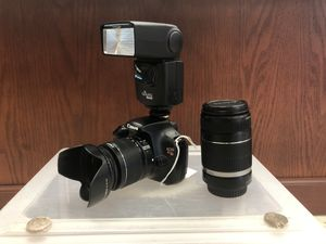 Canon T3 w/ Extras! for Sale in Dickinson, TX