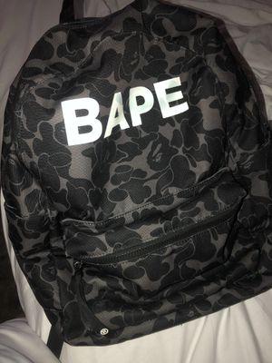 Bape back pack for Sale in Lynnwood, WA