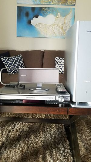 Panasonic 5 Disc DVD Home Theater Sound System for Sale in Dallas, TX