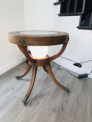 Antique table with light for Sale in Dana Point, CA