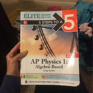 AP Physics 1 Prep Book for Sale in Riverside, CA