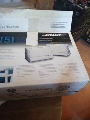 Bose 151 speakers indoor outdoor new for Sale in Phoenix, AZ