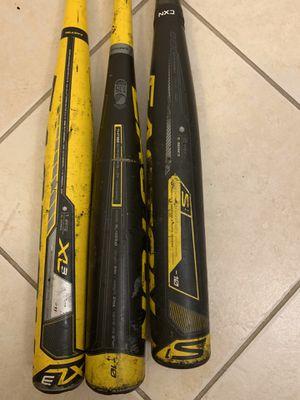 Easton baseball bats (3) for Sale in Margate, FL