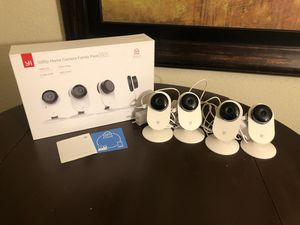 Yi 1080p Home Camera 4 pack System for Sale in Mesa, AZ