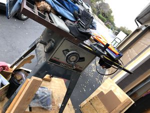 "10"" blade table saw, Craftman for Sale in San Antonio, TX"