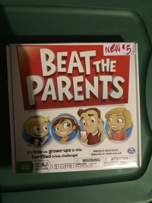 beat the parent board game for Sale in Woodlawn, MD
