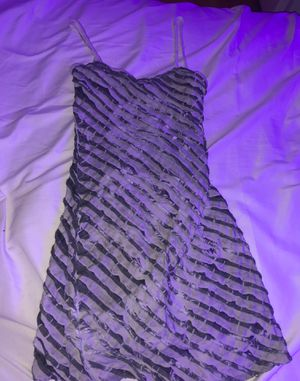 cocktail dress greyish white small for Sale in North Attleborough, MA