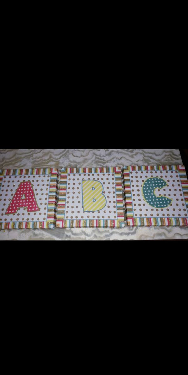 Room decor letters