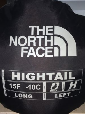 Sleeping Bag North Face Hightail (goose feathers) for Sale in Miami, FL