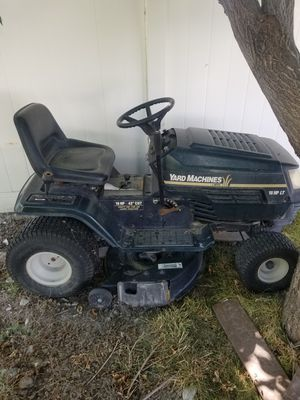 Lawn Tractor 18HP MTD YardMachines for Sale in Salt Lake City, UT