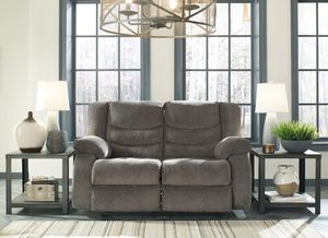 Tulen Gray Reclinggcing Loveseat | 98606 for Sale in Ellicott City, MD