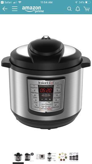 Instant Pot LUX80 8 Qt 6-in-1 Multi- Use Programmable Pressure Cooker, Slow Cooker, Rice Cooker, Sauté, Steamer, and Warmer for Sale in Claremont, CA